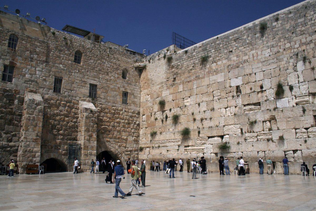 Ściana Płaczu – święte miejsce Żydów